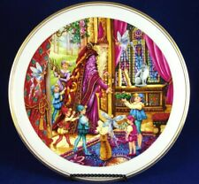 "*Minty* 1994 Royal Doulton England Spellbinder ""Welcome Home"" Wizard Fairy Plate"
