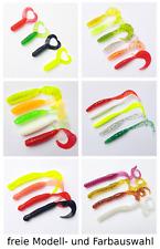 Twister ab 0,36€//St 10cm Forellen Barsch Zander Hecht Gummi Fisch Köder Jig Shad