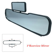 Car HD Anti-glare Glass Rearview Mirror Clip On Curve Observe Baby Widen Vision