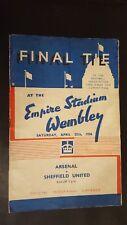 1936 FA Cup Final: Arsenal v Sheffield United at Wembley!