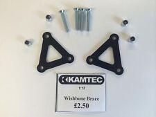 Kamtec Wishbone Brace protectors 1:12 Banger Hot Rod Saloon Mini Black £2.50