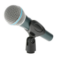Super-cardioid Vocals Karaoke Dynamic 58A Wired Microphone Podcast Microfone