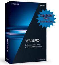 ☑️ Sony Vegas Pro 15 - FULL VERSION (32/64 Bit) - SEALED RETAIL DVD ☑️127 SOLD☑️