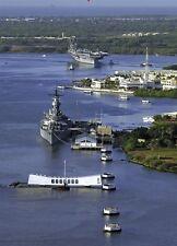 USS Arizona Memorial, Oahu, Hawaii - 3D Lenticular Post Card Greeting Card