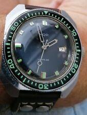 Montre de plongée mécanique Mod. Mouvement Lorsa P75A. Vintage Diver