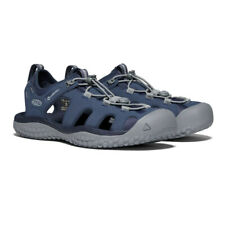 Keen Mens Solr Walking Shoes Sandals - Navy Blue Sports Outdoors Breathable