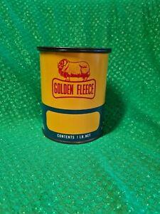 Golden Fleece 1lb Ram On Bone Vintage Tin