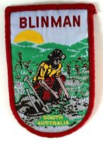 BLINMAN South Australia Vintage Souvenir Woven Embroidered Sew On Cloth Patch