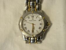 Maurice LaCroix Stainless Steel & 18K Yellow Gold Watch White Dial Date 36mm NR