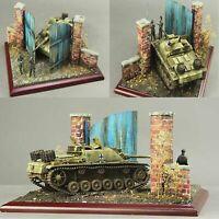 Militärisches Gebäude Modell Scenario 1/35 No.1 CJ0203 European Holztür Set Neu