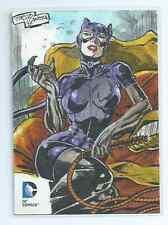 Cryptozoic DC Epic Battles sketch card Tirso Llaneta (d)