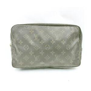 Louis Vuitton LV Cosmetic Pouch Bag TrousseToilette 28 M47522 Monogram 1532171