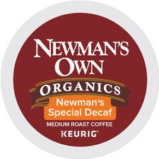 Newman's Own Organics Special Decaf Coffee, Keurig K-Cup Pod, Medium Roast, 96ct