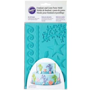 Wilton Fondant and Gum Paste Mold Sea Life Designs