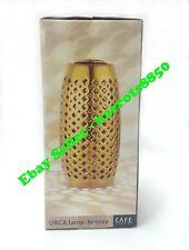 Table Desk Lamp Bronze Electroplated Finish Elegant Ceramic 28cm Height