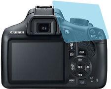 Canon EOS 1300D (2x) Gehärtete Displayschutzfolie CC Displayfolie Panzerfolie