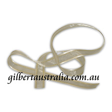 Ribbon Satin Edge Organza 20mm Ivory Gold - 45 metres BULK BUY