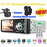 4.1'' Bluetooth Stereo Autoradio 12V Auto Mp5 Player FM Radio USB SD AUX +Camera
