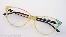 Frühlingsbrille Silk Look Cateyeform Frames Women's Glasses Colourful SIZE M