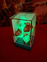 Chessex 30019 Gemini Copper Turquoise Lab 7 Dice Set D&D dungeons dragons glow Z
