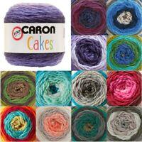 Caron Cakes The Original Aran Yarn Knitting Crochet Crafts 200g Ball Wool