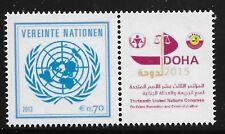 UN Scott #Vienna 538, PAIR 2013 Complete Set FVF MNH