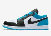 Nike Air Jordan 1 Low SE Black Multi Size US Mens Athletic Shoes Sneakers