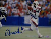 Irving Fryar Autographed Patriots 8x10 Catching the Ball Photo - SGC Auth