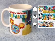 Mickey mouse Club House mug and family characters 2-3 DAYS DELIVERY