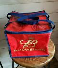 2003 Budweiser Beer Football Soft Side Insulated Portable Cooler Case