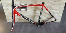 SPECIALIZED SL TARMAC full carbon road bicycle frame frameset 56 USED red black