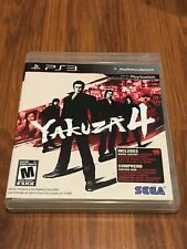 Yakuza 4 (Sony PlayStation 3, 2011) Complete!