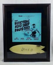 Dane Reynolds Surf Movie Tribute Shadow Box Mini Fish Twin Fin Signed