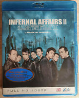 Infernal Affairs 2 II Bluray Tony Leung Shawn Yue Andy Lau Like New Neuwertig