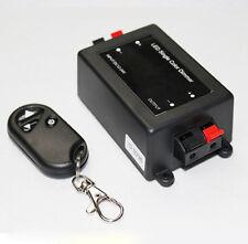 IR Remote Control 12V-24V DC 8A + Wireless Remote LED Light Single Color Dimmer