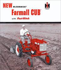 Cub Lo Boy Touch W/ Fast-Hitch IH McCormick FARMALL CUB MANUALS PARTS CATALOG CD