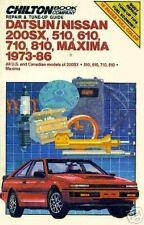 DATSUN/NISSAN 1973-86 Chilton riparazione e messa a punto GUIDA MANUALE PER OFFICINA/7170
