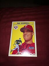 Pat Burrell Phillies Signed 2000 Fleer Tradition Card COA IP