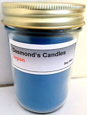 Desmond's Candles Homemade Scented Japan (Blueberry) Soy Jar Candle