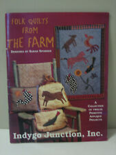 Folk Quilts From the Farm Sarah Sporrer 12 Primitive Applique Projects Patterns