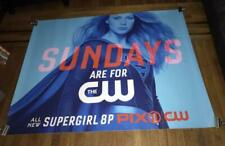 CW SUPERGIRL SEASON 4 2018 5FT SUBWAY POSTER Melissa Benoist