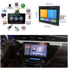 10.1inch Android 8.1 1Din HD Car Stereo Radio GPS MP3 Player Wifi BT OBD DVR