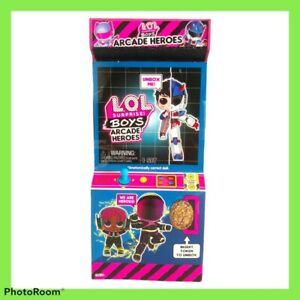 LOL Surprise Boys Arcade Heroes 15 Surprise Pack Brand New and Sealed Various