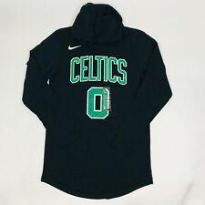 Mens Nike Boston Celtics Tatum Hooded Long Sleeve Shirt Sz XXL BQ2028-018 New