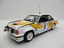 OPEL Ascona No. 8 Rally Monte Carlo 1980