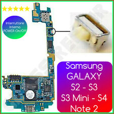 Tasto POWER ON/OFF 4mm Micro Pulsante Accensione Samsung GALAXY S2 S3 S4 Note 2