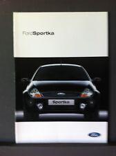 FORD SPORTKA 2002-BROCHURE DI VENDITA