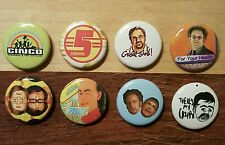 "8 1"" Tim and Eric Awesome Show Adult Swim pinback badges buttons"