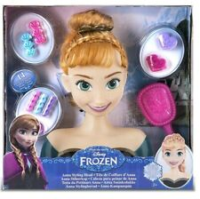 New Disney Frozen Anna, Styling Head Doll Styling Head great gift Christmas bday