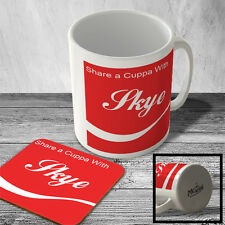 MAC_SACW_187 Share a Cuppa With Skye - Mug and Coaster set